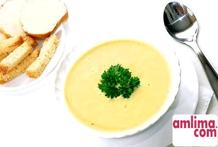 Сирний суп - просте блюдо для гурманів
