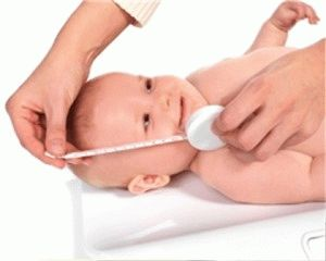 Таблиця зростання новонародженої дитини