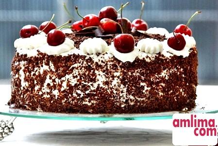 Торт Чорний ліс, або Шварцвальд