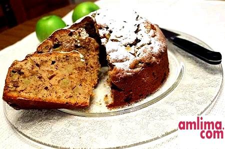 Торт з волоськими горіхами - пальчики оближеш