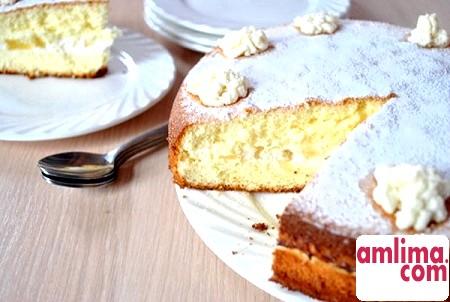 Торт з сирним кремом: ніжність в кожному шматочку