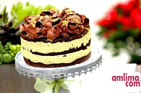 Торт шоколадно-горіховий - парад рецептів