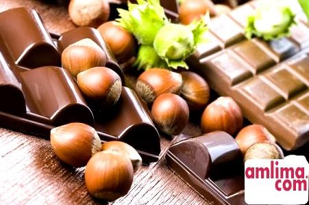 шоколадно-горіховий торт