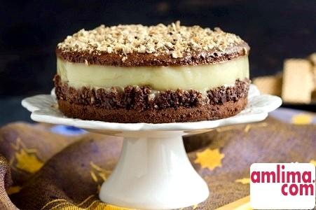 горіхово шоколадний торт