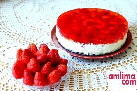 Сирно желейний торт, або