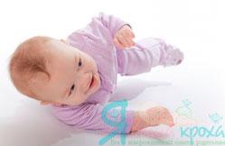 Вчимо малюка перевертатися в 3 - 4 місяці: прості діючі вправи (+ відео)