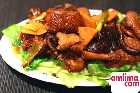 рецепт качки з чорносливом