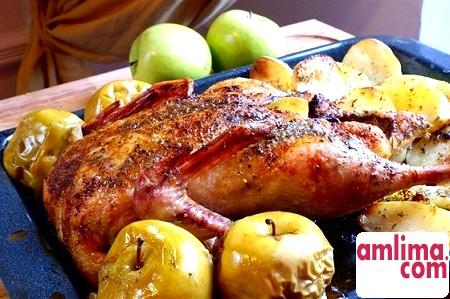 Качка з яблуками і апельсинами: святкові рецепти