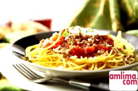 Варіанти рецепта спагетті болоньєзе