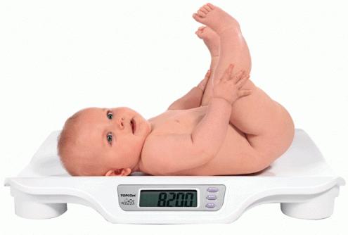 Вага новонародженого: чому дитина погано набирає вагу