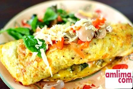 Вносимо різноманітність приготування сніданку: омлет . Рецепт на ранок