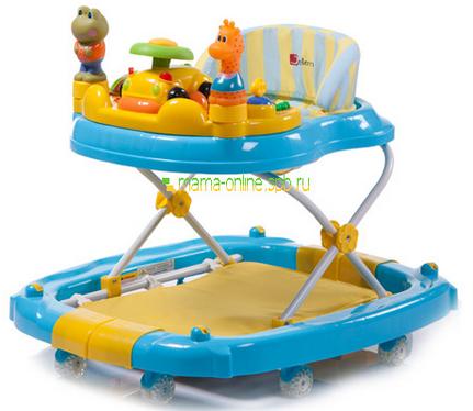 Фото - ходунки дитячі з іграшками