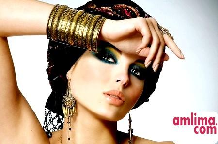 Східний макіяж - секрети Шехерезади
