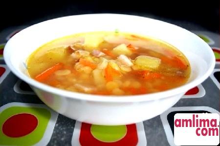 гороховий суп в мультиварці панасонік