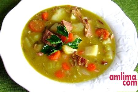 гороховий суп в мультиварці