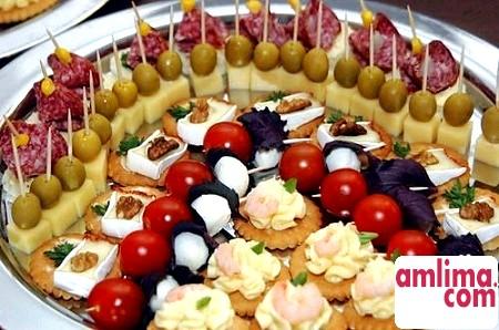 закуски до святкового столу