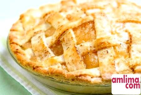Заливний пиріг з яблуками - неповторний смак, непередаваний аромат