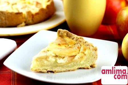 пиріг заливні яблука