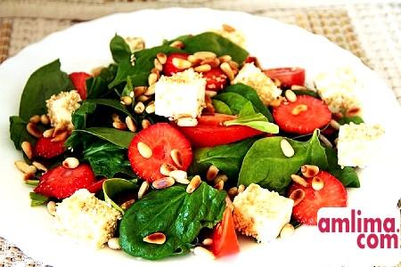 Зелений салат для здоров'я та краси