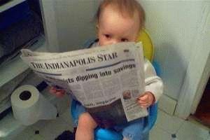 Фото - Зелений стілець у немовляти