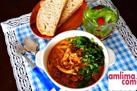 Знаменитий грузинський суп: готуємо харчо з курки